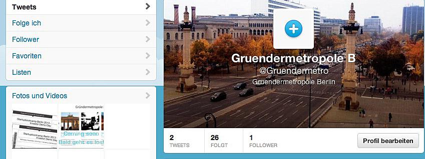 Google + und twitter