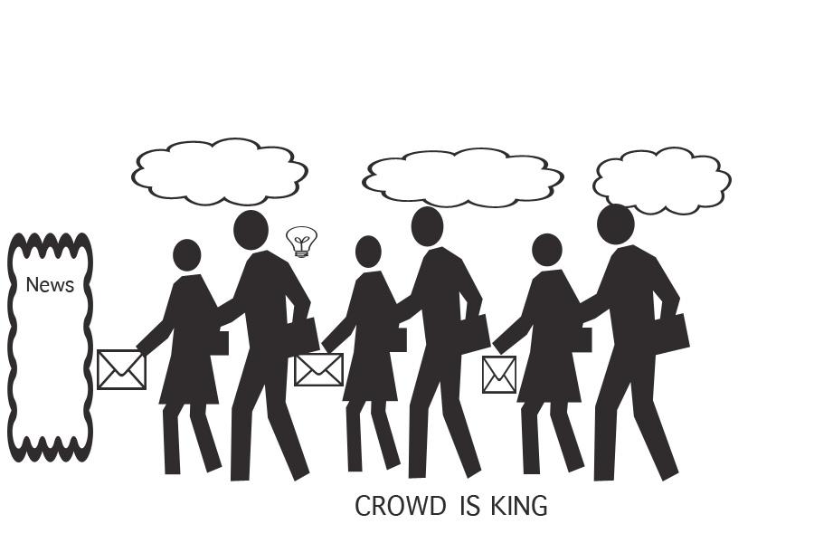 Die Crowd als Content-Lieferant