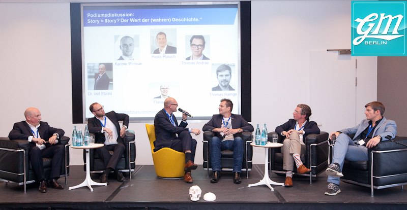 Equity Storytelling, Lesung und Podiumsdiskussion
