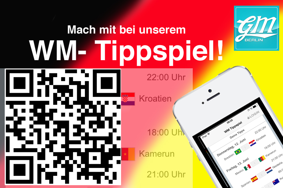 WM-Tippspiel in der APP von Gründermetropole Berlin
