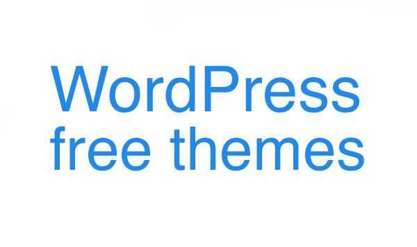 """Auf der Suche nach: """"free WordPress themes"""""""