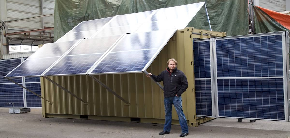 Crowdfundig: Pilotprojekt – Mobiles Photovoltaik-Solarkraftwerk für Afrika