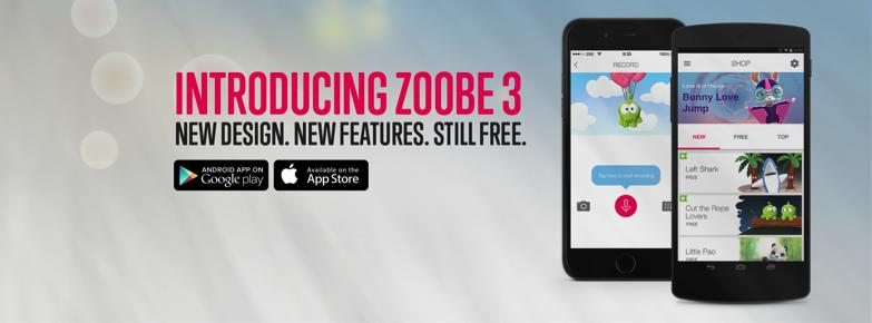 Das Berliner Startup ZOOBE stellt Version 3.0 seiner Character Messaging App vor