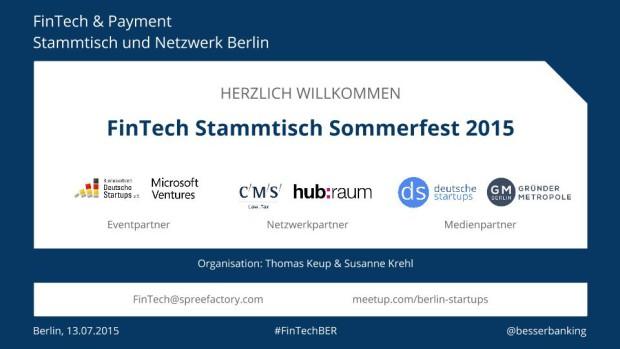 FinTech Sommerfest