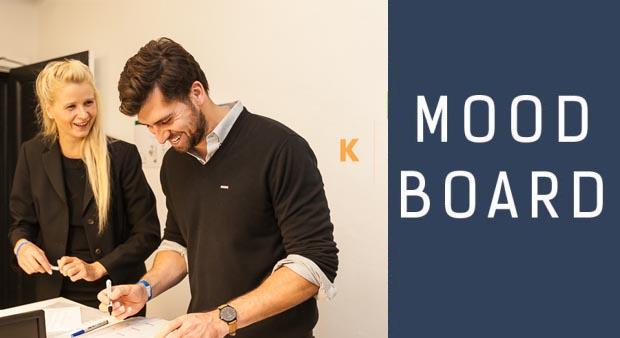 Moodboard: Unternehmen, Innovatoren & Technologien.