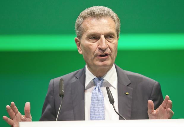 Günther Oettinger auf der NOAH Konferenz Foto: Stefan Kny Gründermetropole Berlin