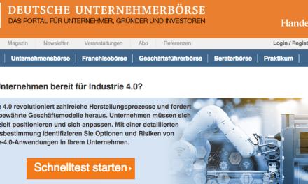 Sind Sie fit für Industrie 4.0?