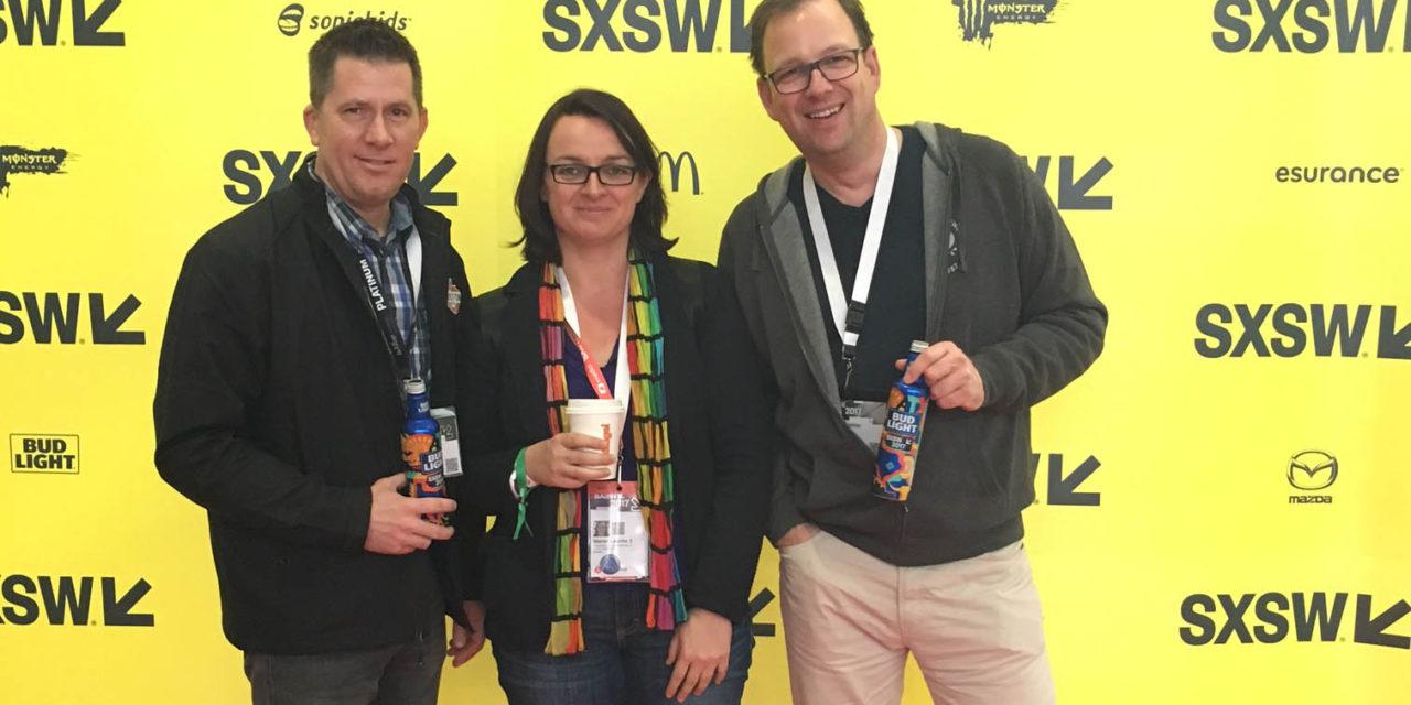 SXSW – Aria Stark trifft Internet-Pionier Vinton Cerf trifft Schwabenpower