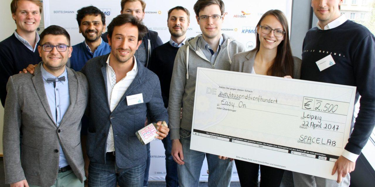 easyOn gewinnt internationalen Startup-Wettbewerb der HHL
