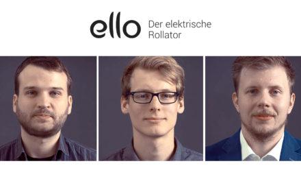 Frisches Kapital: E-Rollator-Startup eMovements erhält Angel-Finanzierung