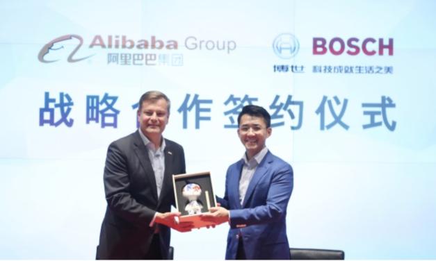 Bosch geht strategische Partnerschaft mit Alibaba ein