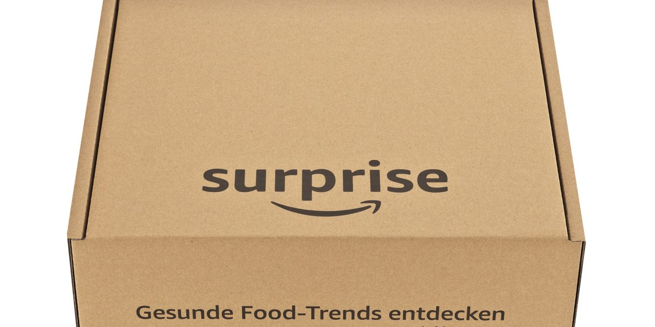 Mit der Amazon Surprise Box innovative Food-Trends entdecken