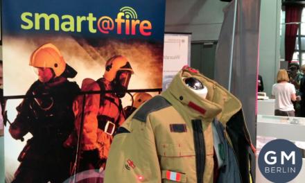 Applycon präsentiert ein Personenschutzsystem für Feuerwehrmänner auf der Wear it
