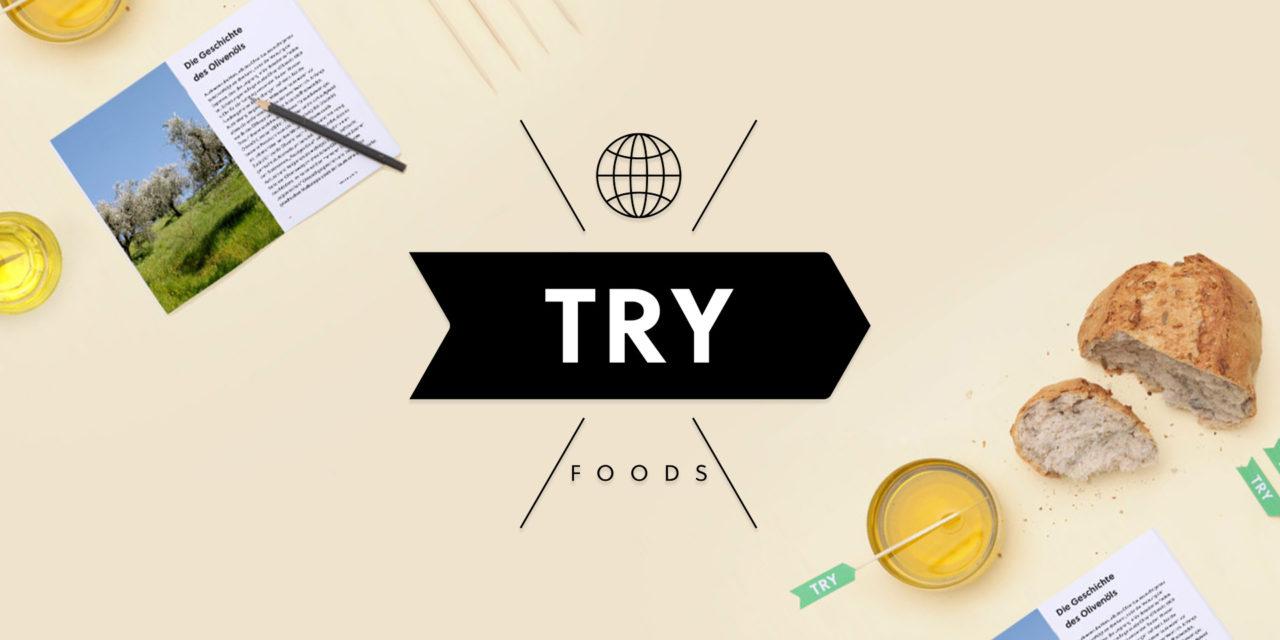 "FoodStartup Vorstellung ""Try Foods"""