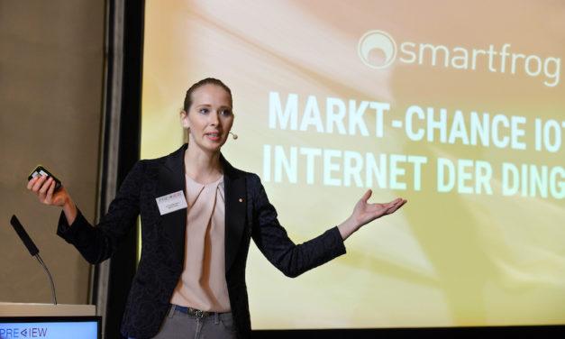 Neuheiten zur IFA: Preview-Award Medienpreis geht an das Internet-der-Dinge-Unternehmen Smartfrog