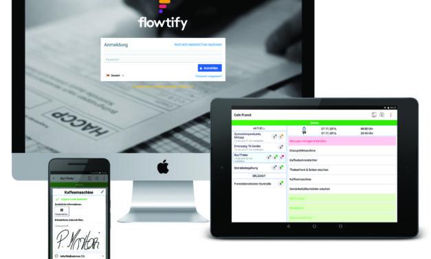 FoodStartup Flowtify
