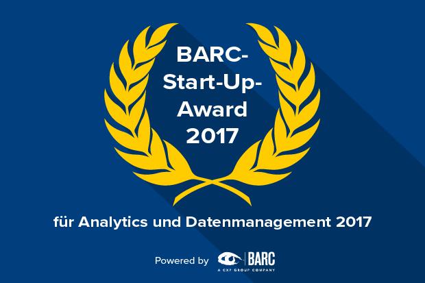 jetzt bewerben: BARC Start-up Award für Analytics und Datenmanagement