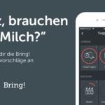 Digitale Einkaufsvorhersage: Shopping-App Bring! weiß, wann die Milch alle ist