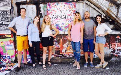 Das Berliner Start-up ArtNight wagt sich in die Löwenhöhle!