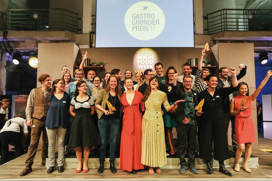 Gastro-Gründerpreis 2017: Die Gewinner stehen fest
