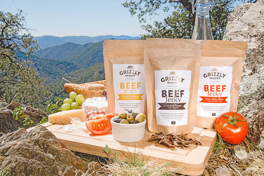 FoodStartup Grizzly Snacks