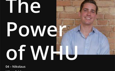 The Power of WHU – Nikolaus Hilgenfeldt