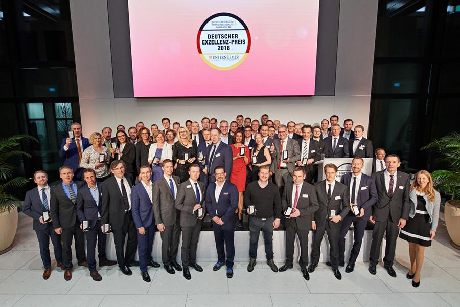 Deutscher Exzellenz-Preis erstmals vergeben: 21 Start-Ups ausgezeichnet