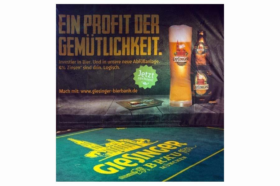 Fast 1.300 Unterstützer investierten rund 1,2 Mio. Euro in Giesinger Bräu