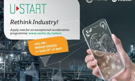 Rethink Industry! Veolia und InnoEnergy starten ihre dritte gemeinsame Start-up Kampagne