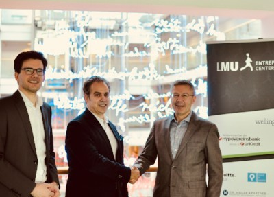 VKB Bayern wird neuer Partner des Entrepreneurship Centers der Ludwig-Maximilians-Universität München