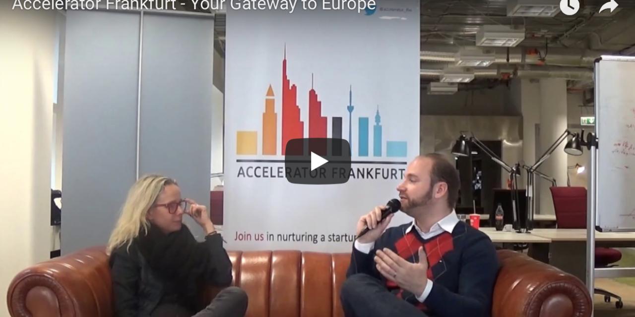 Maria Pennanen, Mitgründerin Accelerator Frankfurt, im Gespräch mit Startuprad.io.