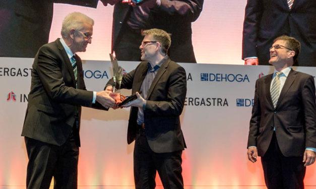 """flowtify ist Gewinner des Intergastra Innovationspreises 2018 in der Kategorie """"Qualitätssicherung & Wirtschaftlichkeit"""""""