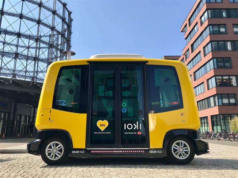 Deutsche Bahn und Berliner Verkehrsbetriebe kooperieren im Bereich autonomes Fahren