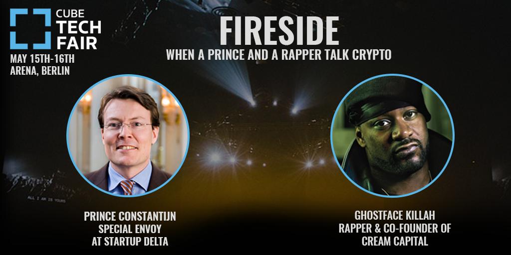 CUBE Tech Fair 2018: When a prince and a rapper talk crypto