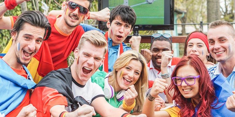 Nächstes Firmenevent:  Public Viewing zur Fußball-Weltmeisterschaft 2018