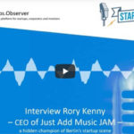 Podcast – Meet JAM – Just Add Music, a hidden champion of the Berlin startup scene