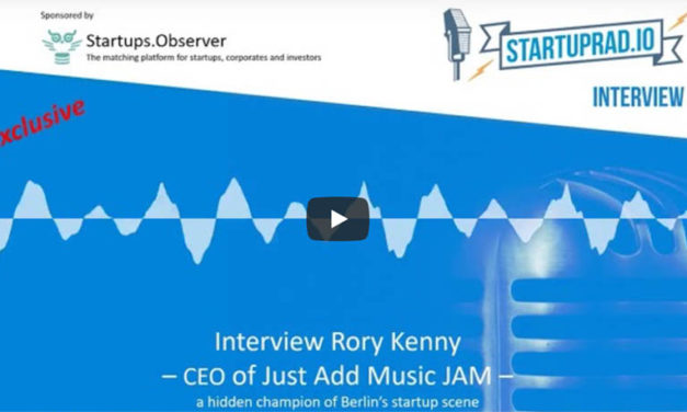 Podcast – Meet JAM – Just Add Music, a hidden champion of the Berlin startup scene