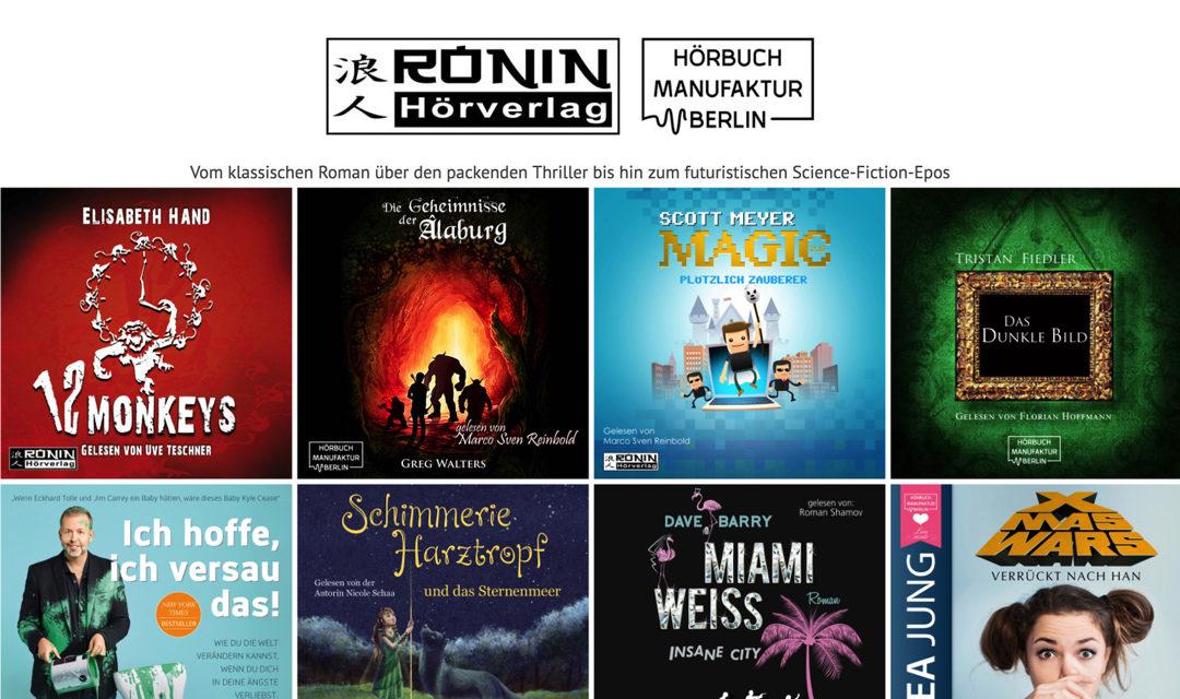 Die Berliner ÖPNV-Nutzer bekommen was auf die Ohren – von zwei Indie-Hörbuchverlagen