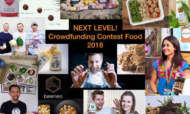NEXT LEVEL! Der Food-Start-up-Wettbewerb: Die Finanzierungsphase auf Startnext beginnt