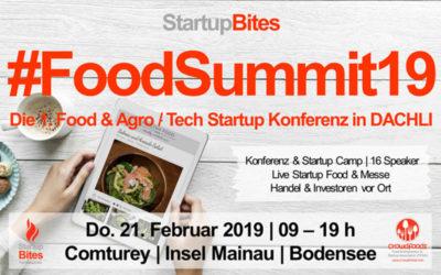 Erste Food- und Agro-Startup Konferenz am Bodensee
