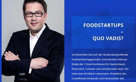 FoodStartups – Quo vadis?