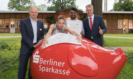 Gründerpreis der Berliner Sparkasse geht an Nocturne