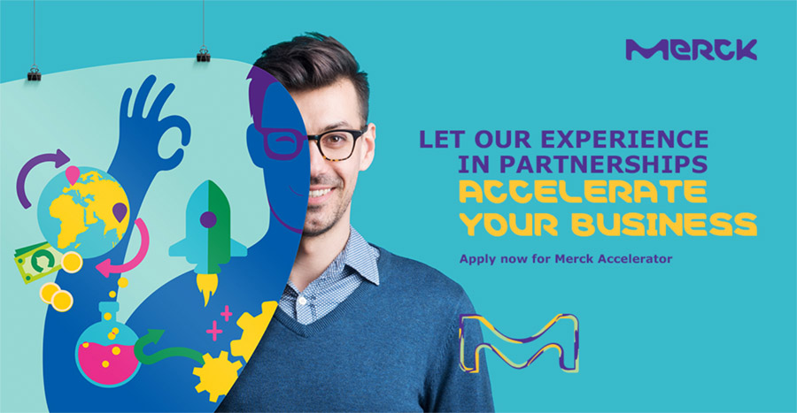 Apply for the Merck Accelerator and Gain a Collaboration Partner.