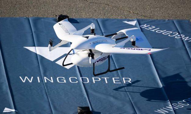 Wingcopter sichert sich weiteres Investment von Corecam
