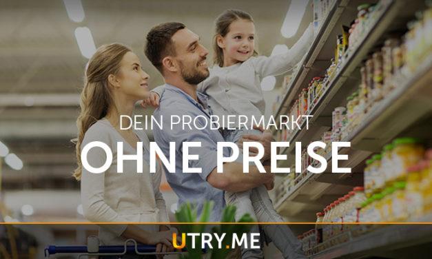 Utry.me: Weltweit einziger Online-Probiermarkt startet in Corona-Krise durch