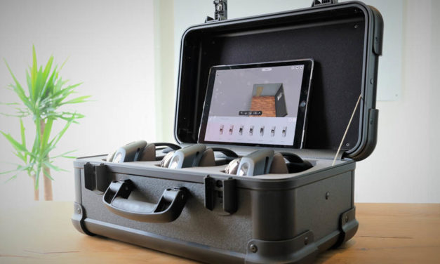 Island Labs bietet das .rooms Evaluation Kit im Mietmodell an