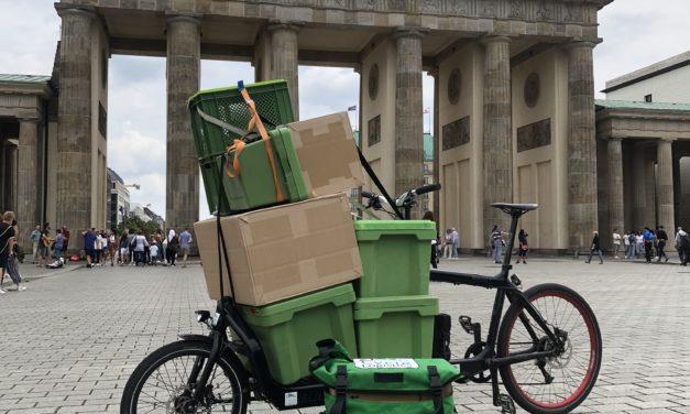 Everesten in Berlin –  Mit dem Cargobike auf 8.848m hoch hinaus